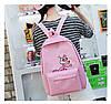 Рюкзак женский розовый с розовой пантерой, фото 6