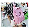 Рюкзак женский розовый с розовой пантерой, фото 10