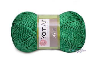 YarnArt Style, Зеленый №664