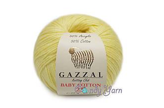 Gazzal Baby Cotton-25, Цыпленок №3413