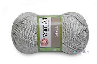 YarnArt Style, Серебро №666