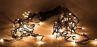 Светодиодная гирлянда занавес Рис 76Л теплый белый (650736)