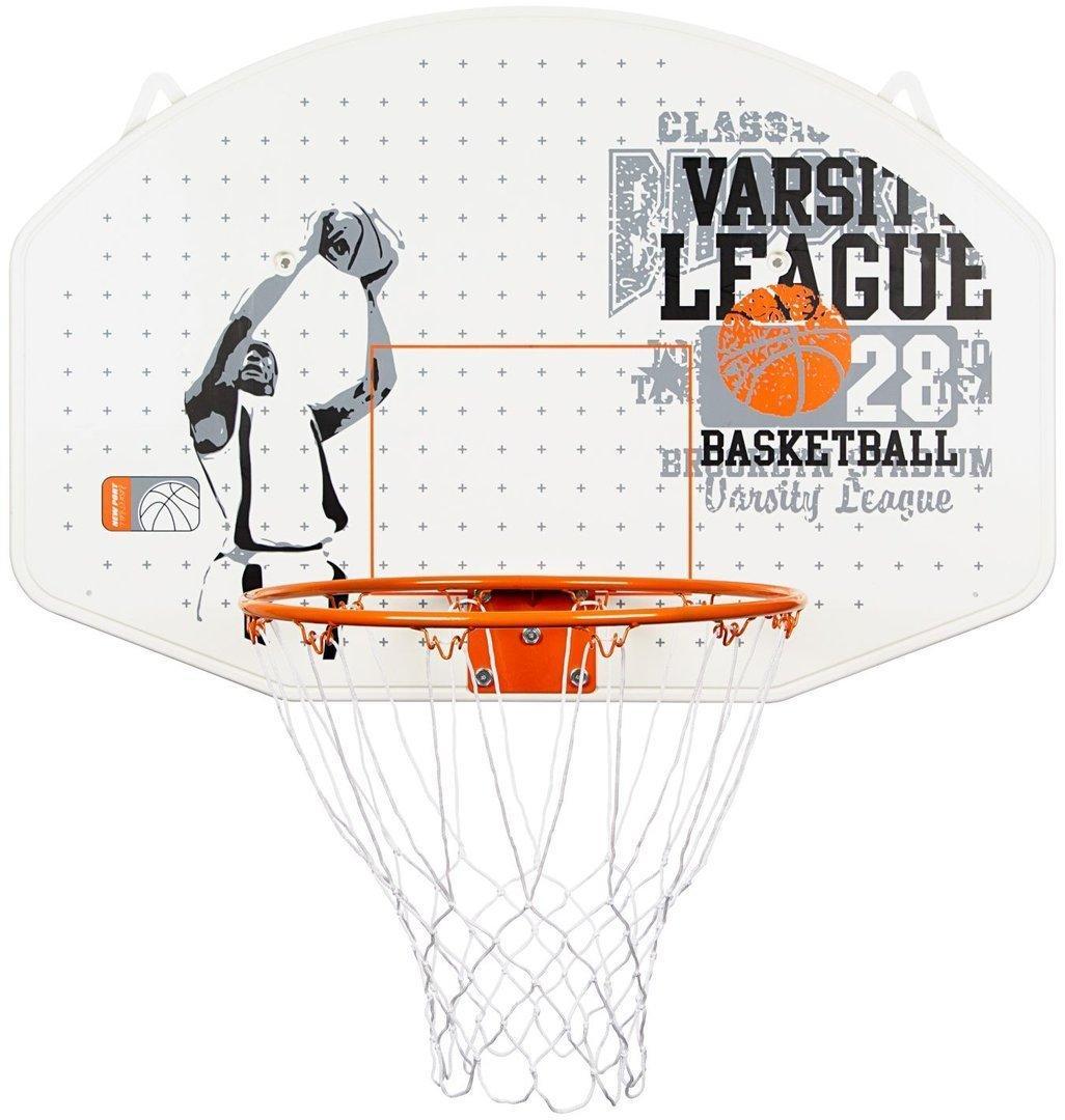Настенный баскетбольный щит New Port  диаметр кольца 42 см