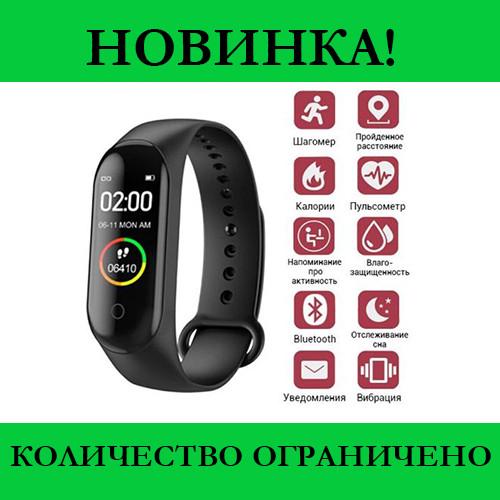 Браслет Smart Watch Mi BAND M4 Black