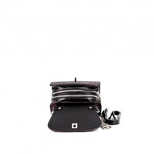 Сумка клатч Assa 1095М  кожаный Бордо, фото 2