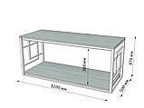 Стол журнальный Loft Металл-Дизайн. Серия Ромбо, фото 3