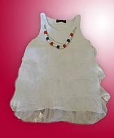 Блуза-туничка для девочки, 146 см, To Be Too, Италия