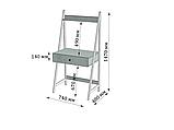 Стол рабочий Loft Металл-Дизайн. Серия Дуо, фото 3