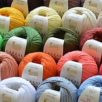 Новинка! Пряжа для вязания игрушек Gazzal Baby Cotton 25