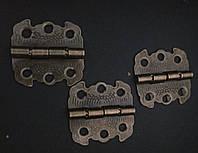 Петля для шкатулки бронза, фото 1