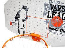 Настенный баскетбольный щит New Port  диаметр кольца 42 см, фото 2