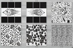 Пескоструйные изображения на 3 двери тм Эксклюзив
