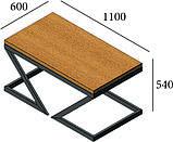 Стол журнальный Зетт Loft Металл-Дизайн, фото 3