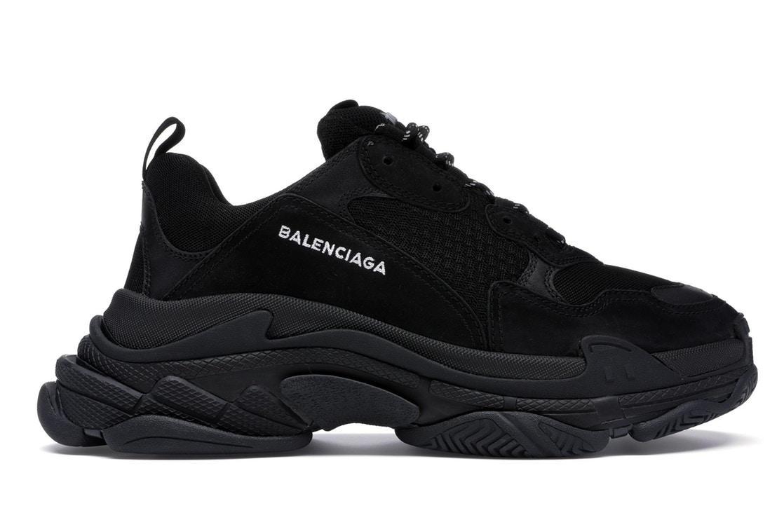Balenciaga Triple S All Black