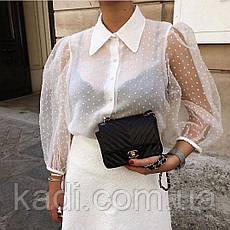 Блуза с объемными рукавами, фото 3