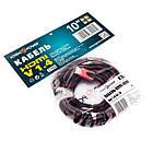 Кабель LogicPower (LP2769) HDMI-HDMI, v1.4, 10м, черный с красным, фото 2
