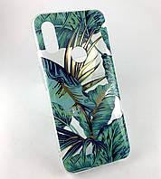 Чехол для Xiaomi Redmi 7 накладка Gelius Flowers силиконовый бампер противоударный с принтом