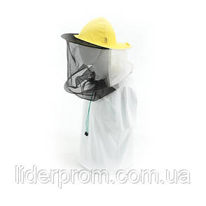 Капелюх бджолярський (сітка ззаду, сітка стьогана спереду). Lyson (Польща), фото 2