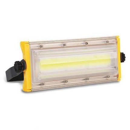 Светодиодный прожектор BIOM 50W COB Professional IP65 slim 220V холодный белый, фото 2