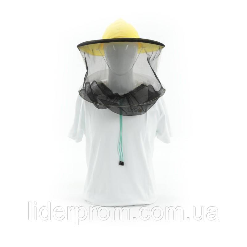 Капелюх бджолярський (сітка ззаду, сітка стьогана спереду). Lyson (Польща)