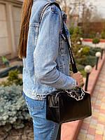 Жіноча шкіряна сумка з двома ремінцями через і на плече Polina & Eiterou, фото 3