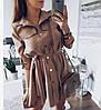Легкое платье-рубашка, софт