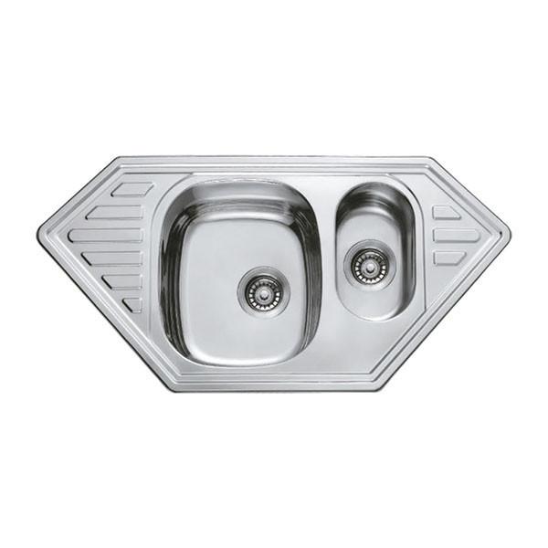 Мойка кухонная HAIBA 100x50 (polish) (HB0523)