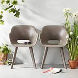 Стілець садовий вуличний Allibert Akola Duo Dining Chair Cappuccino ( капучіно ), фото 7