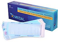 Пакети для стерилізації Medal - 200 шт/уп, 70 x 230