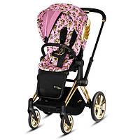 Прогулочная коляска Cybex Priam by Jeremy Scott Cherub Pink pink