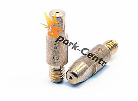 Наконечник токосъемный для алюминия (E-Cu для Al) Ø0,8 мм М6х28 для горелок МВ 25 Binzel Abicor (Германия)
