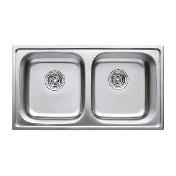 Мойка кухонная HAIBA 78x43 (decor) (HB0564)