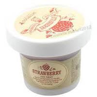 Маска-скраб с сахаром и клубникой Skinfood black sugar strawberry mask wash off, 100гр
