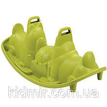 Качалка двойная Собачки Зеленые Smoby 830201