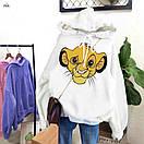 Модное худи с капюшоном с мультяшным героем SIMBA, фото 6