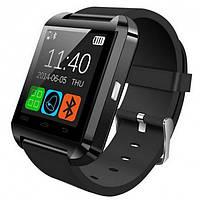 Смарт-часы UWatch U8 Black умные часы с мультимедийными функциями для Android смартфонов Bluetooth, фото 1