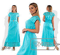 Летнее женское платье в пол PY/-4949