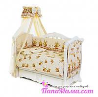 Детский постельный комплект 8 элементов Twins Comfort Пчелки , фото 1
