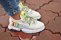 Крутые женские кроссовки на шнурках. Очень удобные. Качество СУПЕР!