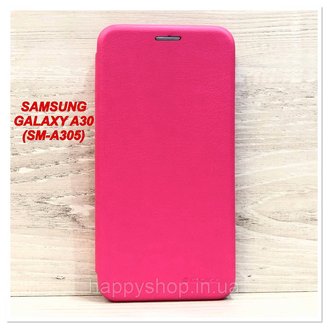 Чохол-книжка G-Case для Samsung Galaxy A30 (SM-A305) Рожевий