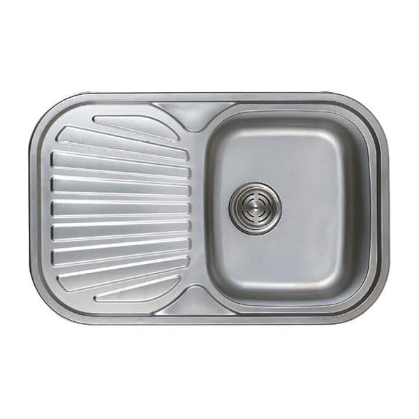 Мойка кухонная HAIBA 74x48 (decor) (HB0559)