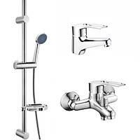 Комплект смесителей для ванной CRON HANSBERG SET-1 (CR0842)
