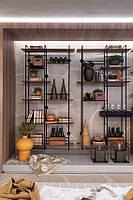 Дизайнерский Стеллаж Тандем в стиле Лофт Loft