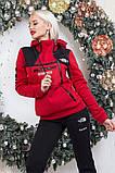 "Тёплый женский спортивный костюм на байке 2289 ""The North Face"", фото 7"