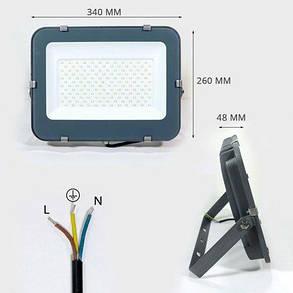 Светодиодный прожектор OEM 150W S3-SMD-150-Slim 6500К 220V IP65, фото 2
