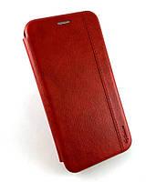 Чехол книжка противоударный боковой Gelius Leather для Samsung galaxy A10s, A107 2019 красный