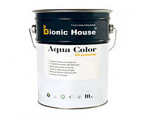 Краска для дерева Bionic-House Aqua Color UV-protect 10л Белый А101