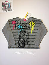 Реглан Monster High на девочку 9-10 лет