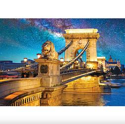"""Пазлы """"Цепной мост, Будапешт, Венгрия"""", 500 элементов Dankotoys"""