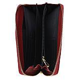 Женский кожаный кошелек Keizer K12707-red, фото 4